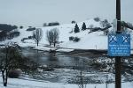 München, Olympiasee, Vorbereitungen FIS-Rennen, 6.12.2010