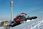 München, Olympiaberg, Vorbereitungen FIS-Rennen, 26.12.2010
