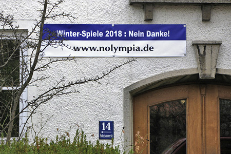 Protest gegen Olympia